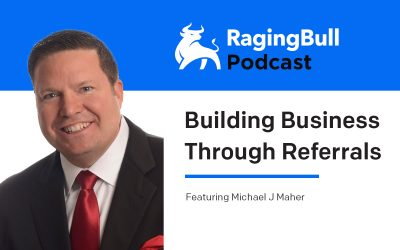 Michael J Maher – Building Business Through Referrals